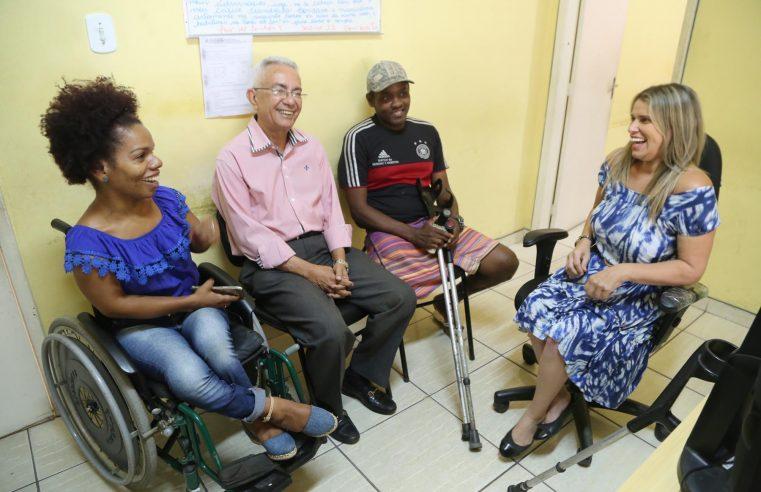 Queimados promove ação social para pessoas com deficiência