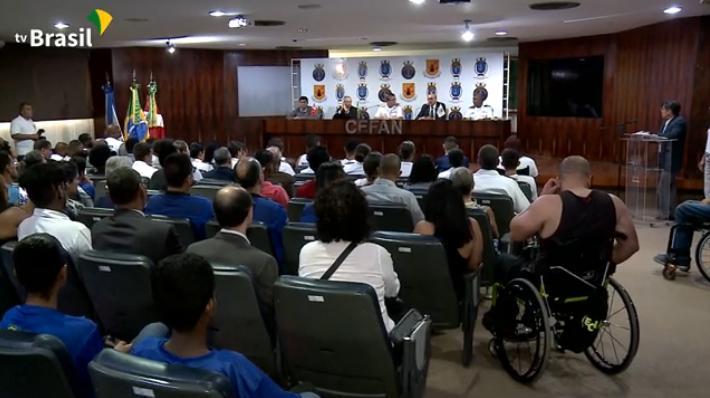 Comitê Olímpico e Marinha criam Centro  de Treinamento regional no Rio de Janeiro