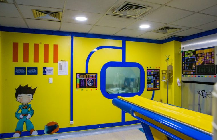 Hospital da Criança é referência no  atendimento de pequenos pacientes
