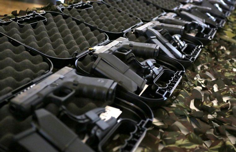 Estado recebe mais de 27 mil pistolas  do Gabinete de Intervenção Federal