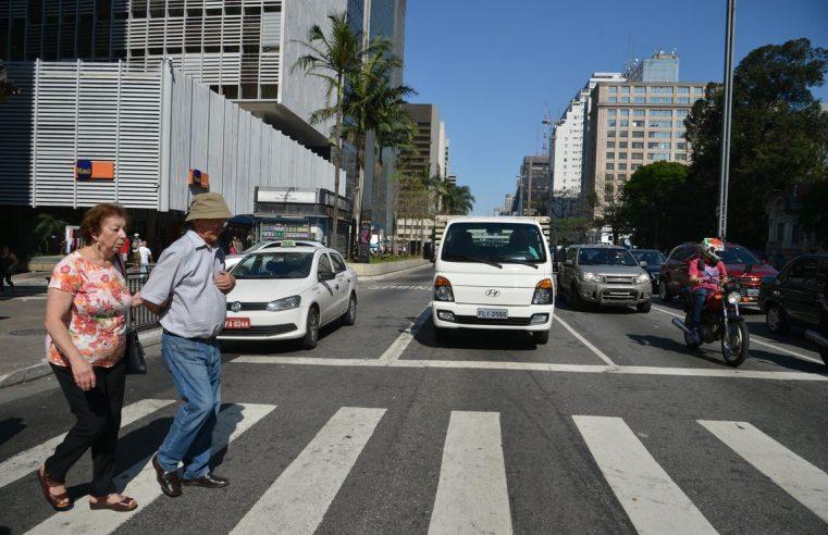 Estudo revela que 35% das mortes  no trânsito são por atropelamento