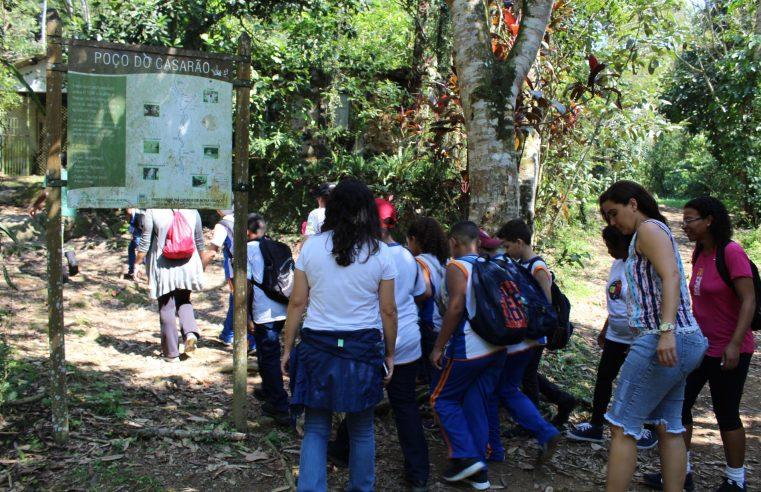 Projeto leva crianças ao Parque  Natural Municipal de Nova Iguaçu