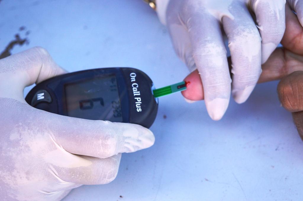 Queimados é referência no combate ao diabetes