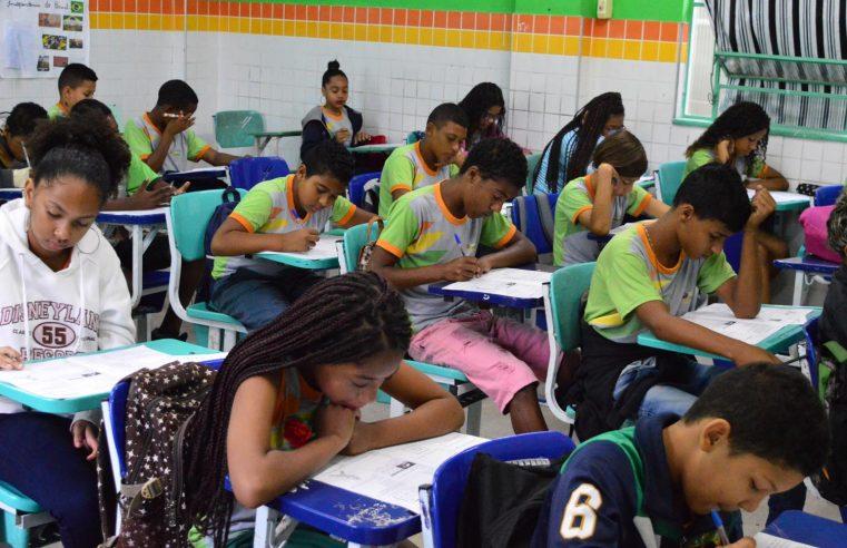 Dois mil alunos da rede municipal de  Queimados realizam simulado do IDEB