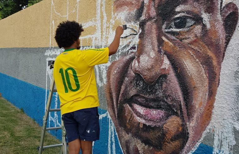 Chatuba terá ação  com grafiteiros dia 27