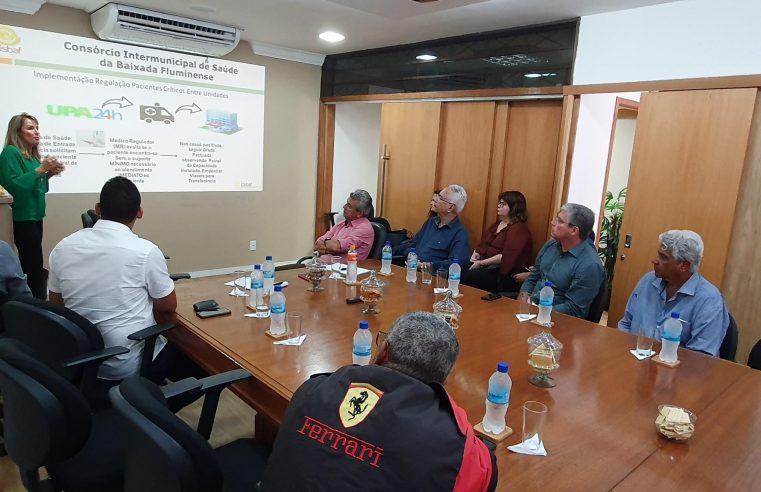 Cisbaf discute com prefeitos a ampliação das  ações da Central de Regulação do SAMU