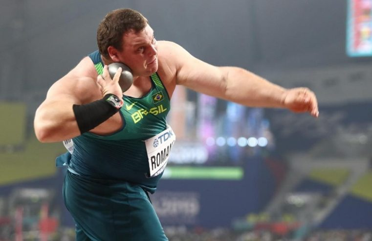 Brasileiro se classifica para final  do arremesso de peso no Mundial