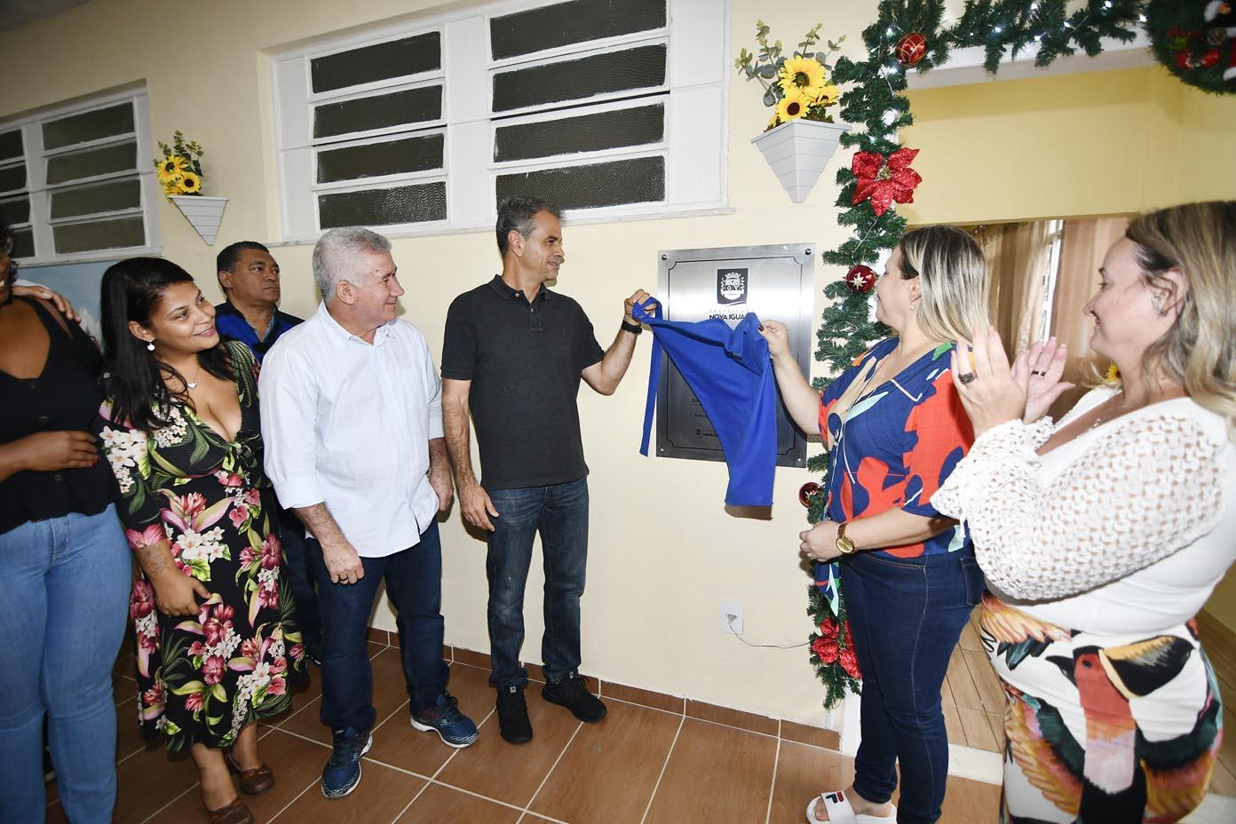 Casa de Acolhida para a Terceira Idade  é reinaugurada em Nova Iguaçu