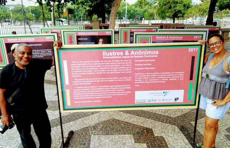 'Ilustres & Anônimos': uma homenagem às  personalidades negras da Baixada Fluminense