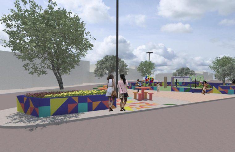 Intervenções do projeto Cidades Inteligentes  darão vida nova à praça em Queimados