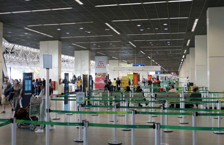 Aeroportos transmitem mensagem  da Anvisa sobre o coronavírus
