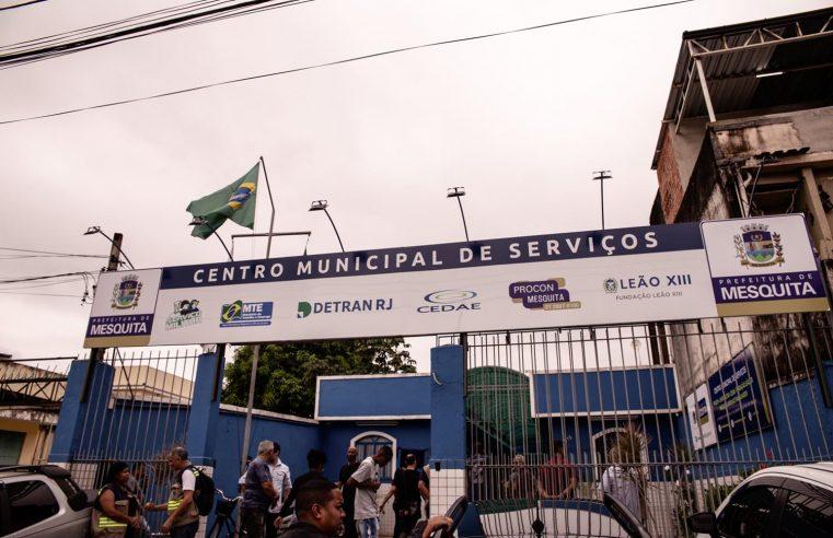 Centro Municipal de Serviços de Mesquita está inaugurado