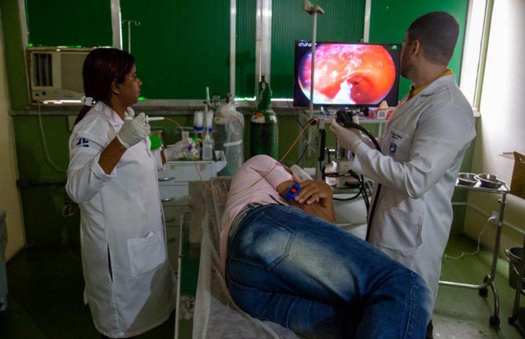 Secretaria de Saúde de Mesquita  realiza endoscopia digestiva