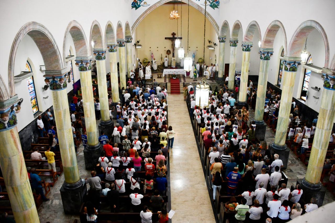 Missa na Catedral de Santo Antônio marca abertura  das comemorações pelo aniversário de Nova Iguaçu