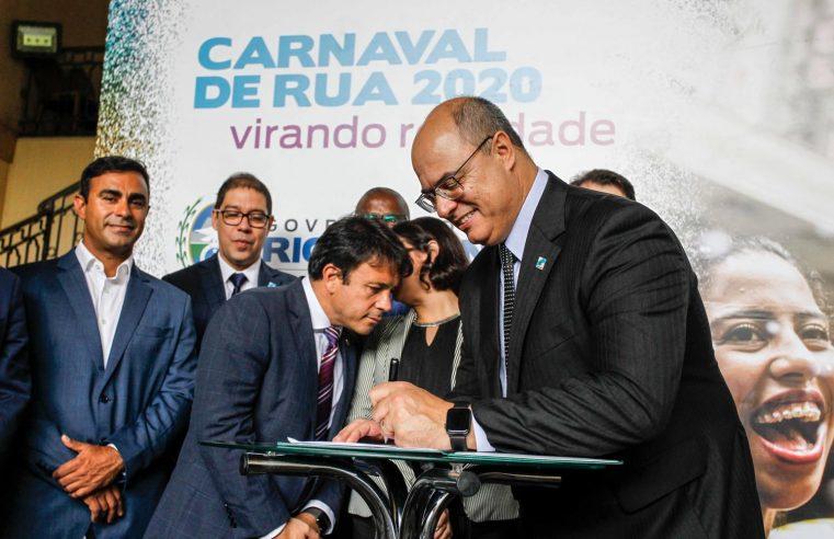 Estado anuncia apoio ao Carnaval  de rua do Rio de Janeiro