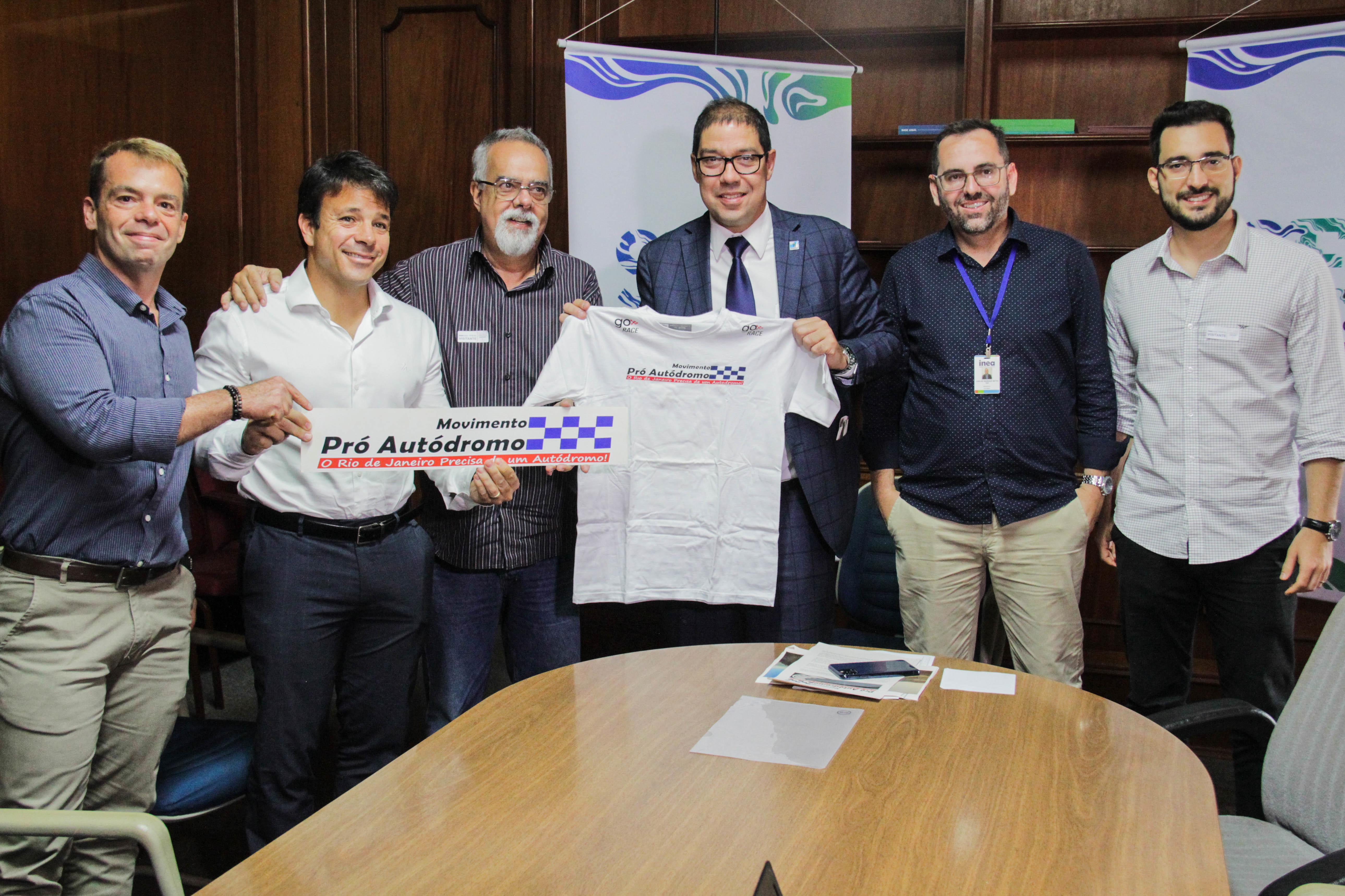 Relatório de licenciamento ambiental  do autódromo será analisado pelo Inea