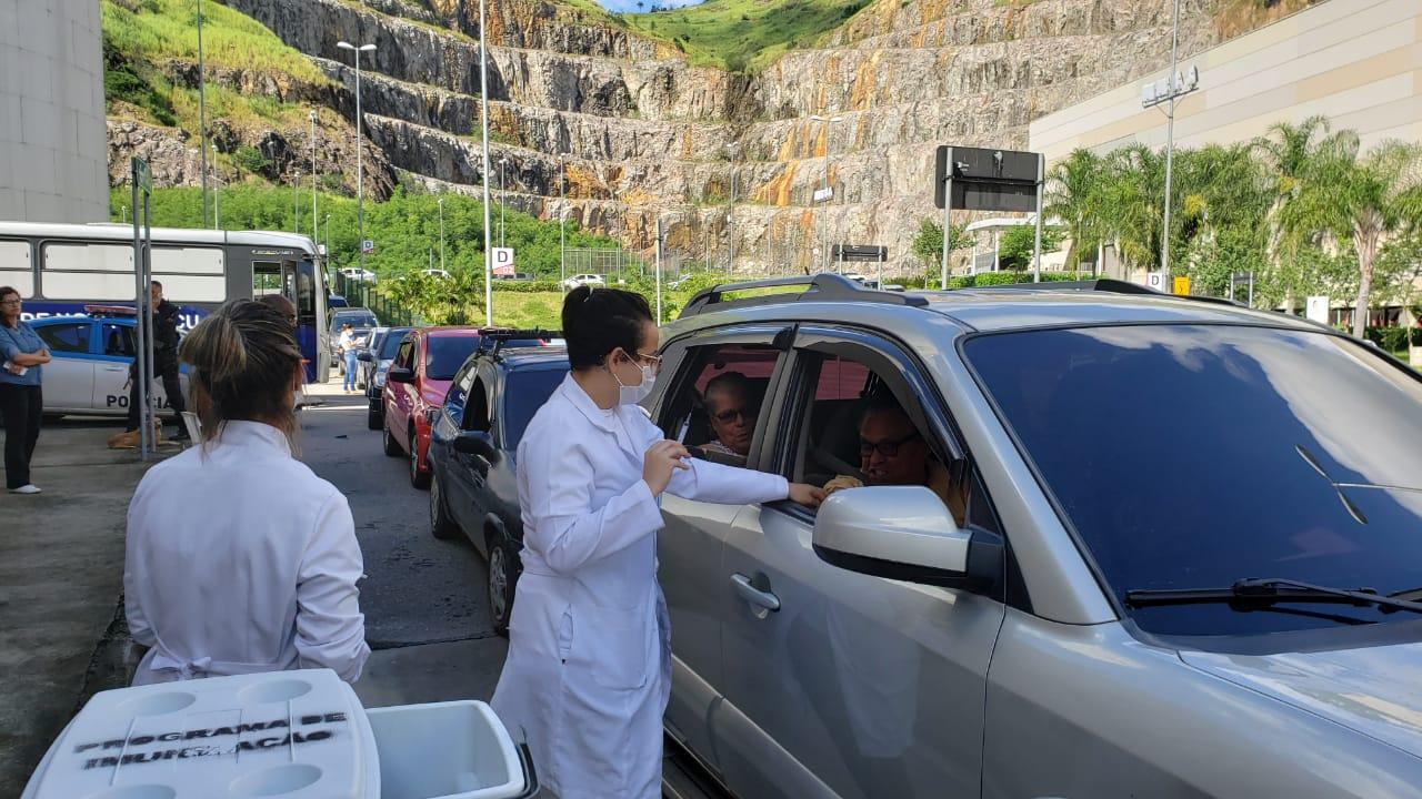 Nova Iguaçu retoma campanha de vacinação contra gripe hoje