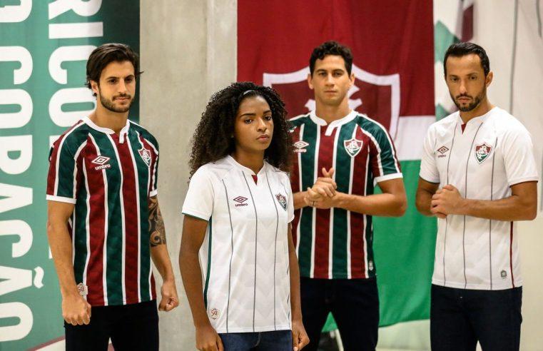 Fluminense lança novos  uniformes em live movimentada