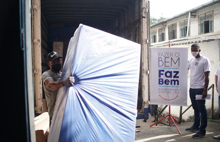 Empresa de alimentos doa 48  camas de UTI para Nova Iguaçu