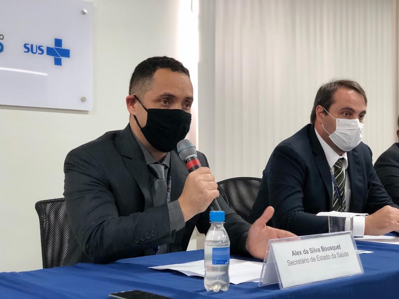 Secretário de Saúde anuncia datas para fechamento dos hospitais de campanha