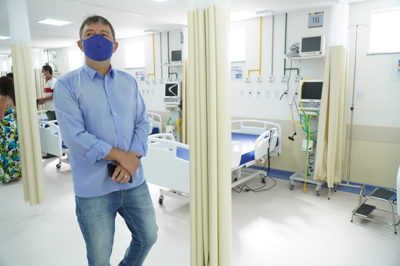 Itaboraí inaugura leitos de UTI  para vítimas da Covid-19