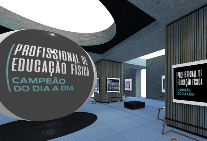 Exposição virtual homenageia profissionais de Educação Física