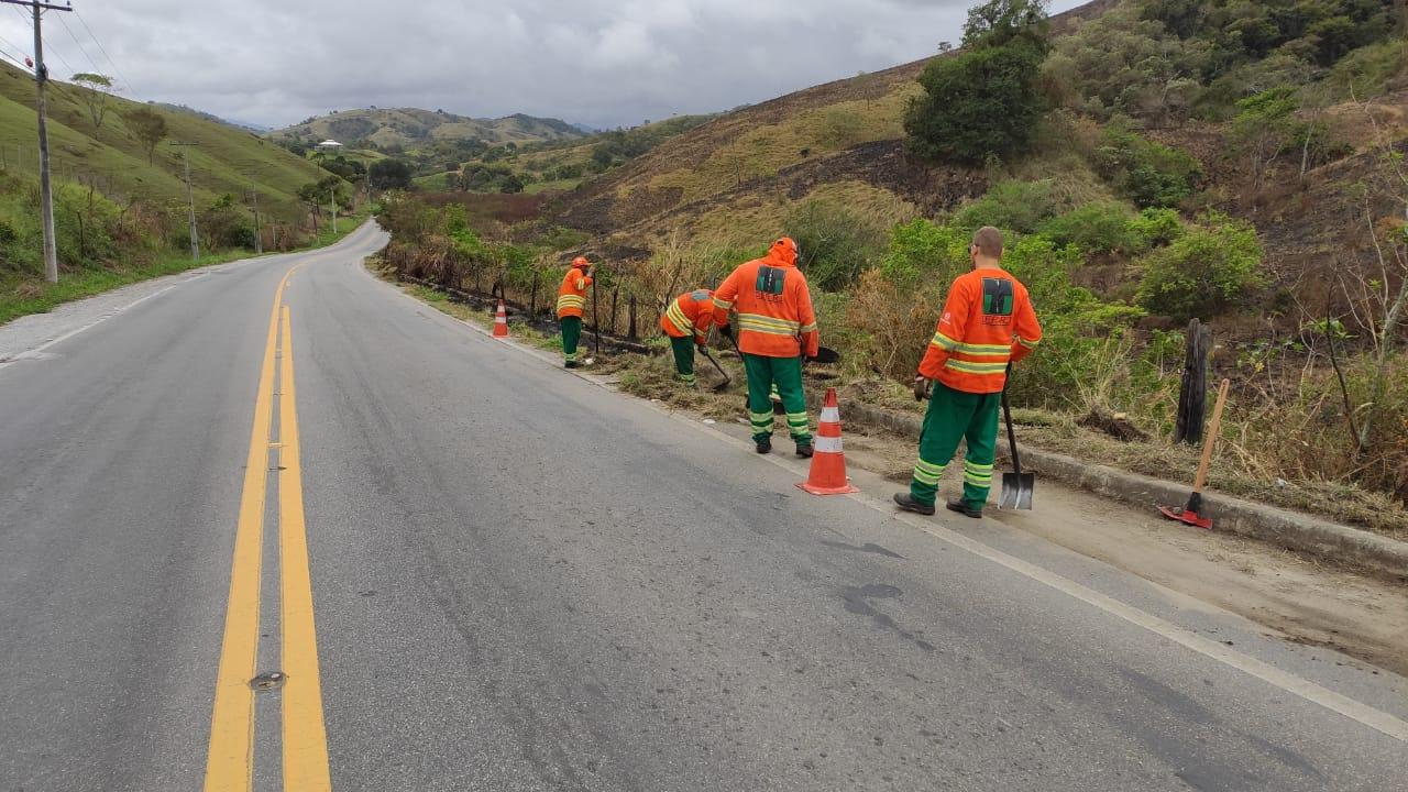 Estado realiza serviços de  manutenção em onze rodovias