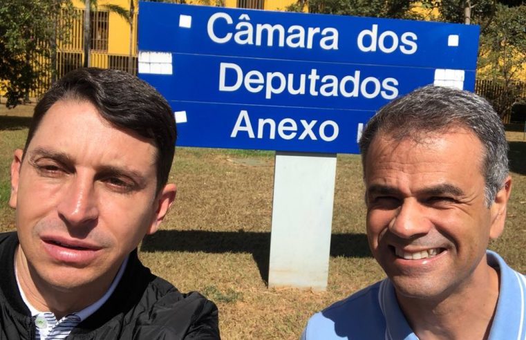 Juninho do Pneu é o vice de Rogerio  Lisboa na disputa pela reeleição