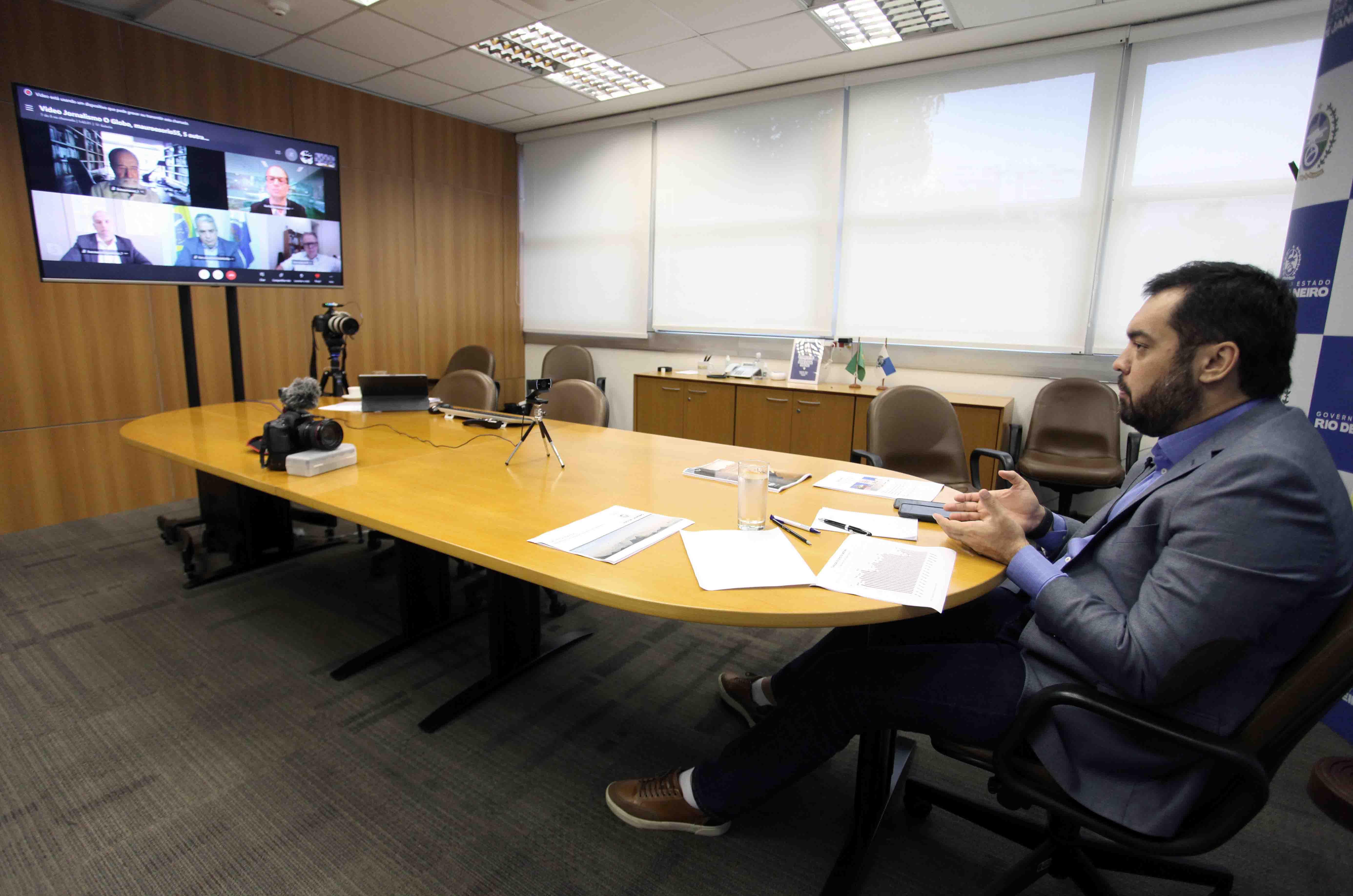 Cláudio Castro: debate sobre partilha dos  royalties precisa ser de Pacto Federativo