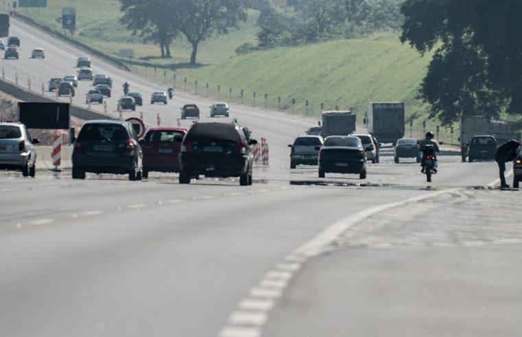 PRF registra 973 acidentes em  todo país em feriado prolongado