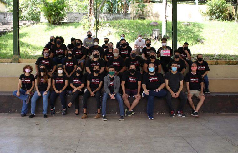 Alunos do curso de cinema da EncontrArte Audiovisual  gravam dois curtas-metragens em Nova Iguaçu