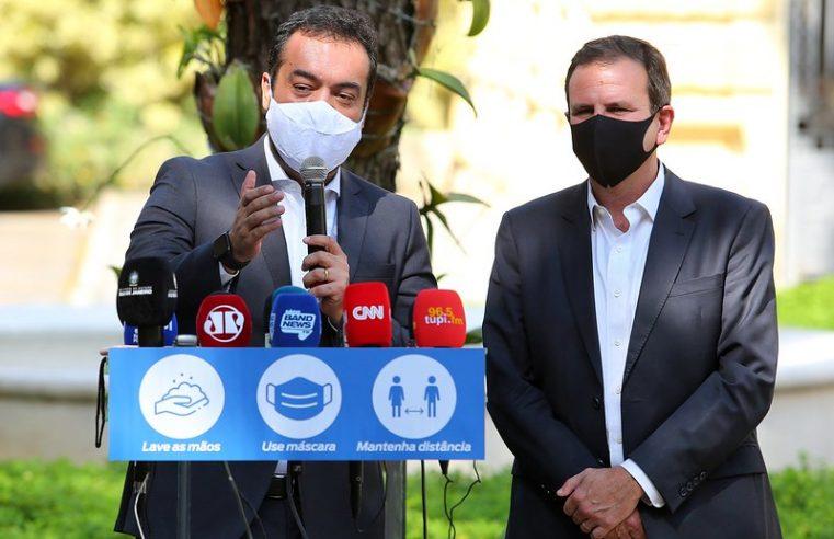 Governador anuncia testagem em massa e descarta mais restrições