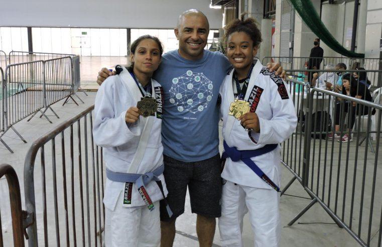 Jiu-Jitsu da Vila Olímpica de Belford Roxo conquista duas medalhas no Campeonato Brasileiro