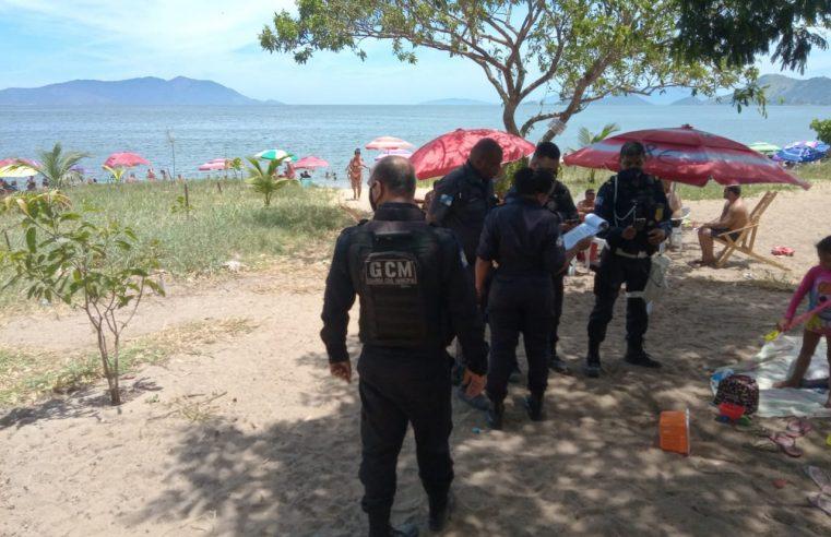 Guarda Municipal realiza apreensão de churrasqueiras nas praias e ilhas