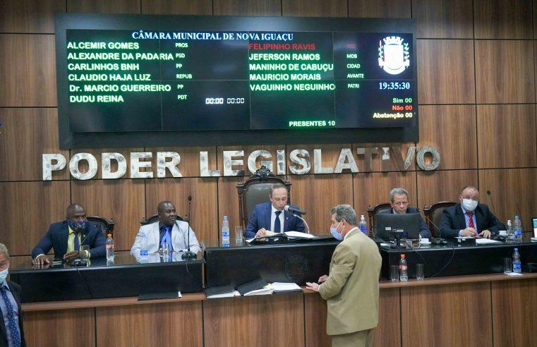 Câmara de Nova Iguaçu dá início  ao período legislativo de 2021