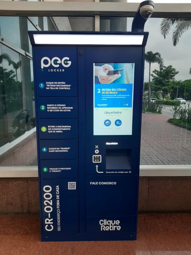 Shopping Grande Rio disponibiliza locker  para retiradas rápidas das compras