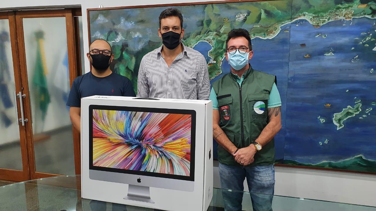 Mangaratiba recebe equipamento de alta precisão  para reforçar controle ambiental e urbano no município