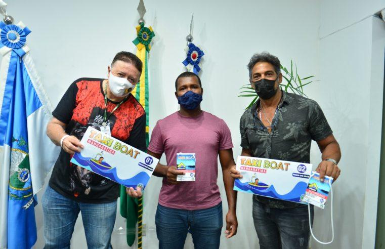 Prefeitura de Mangaratiba realiza  entrega de credenciais para táxi boats