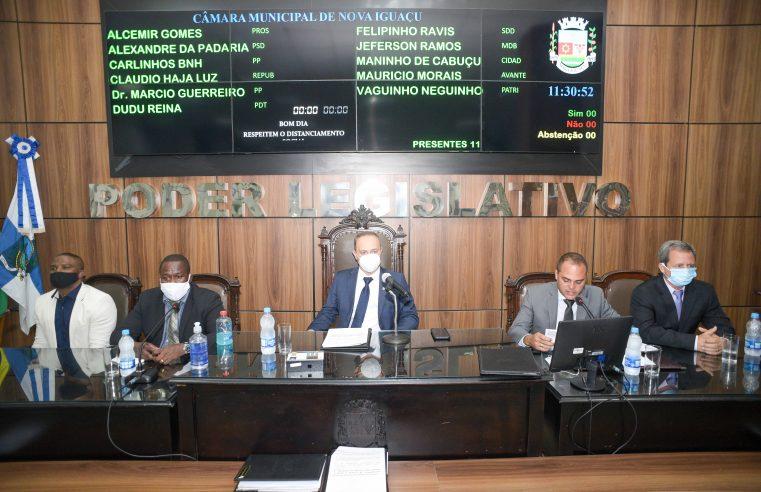 População aprova a mudança do horário  das sessões da Câmara de Nova Iguaçu