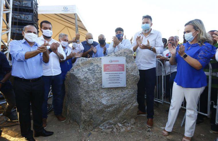 Governador e prefeito lançam pedra fundamental para a construção do Complexo da Saúde em Belford Roxo