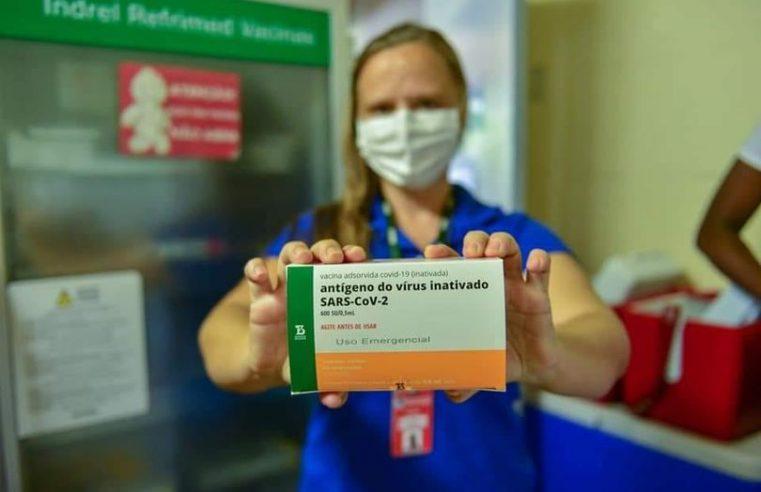 Mangaratiba recebe mais 310 doses da CoronaVac