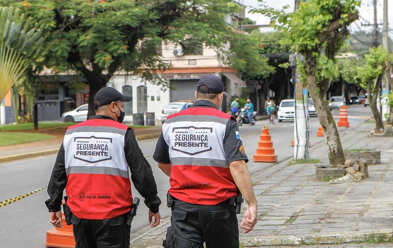 Operação Segurança Presente  inaugura base em Paracambi