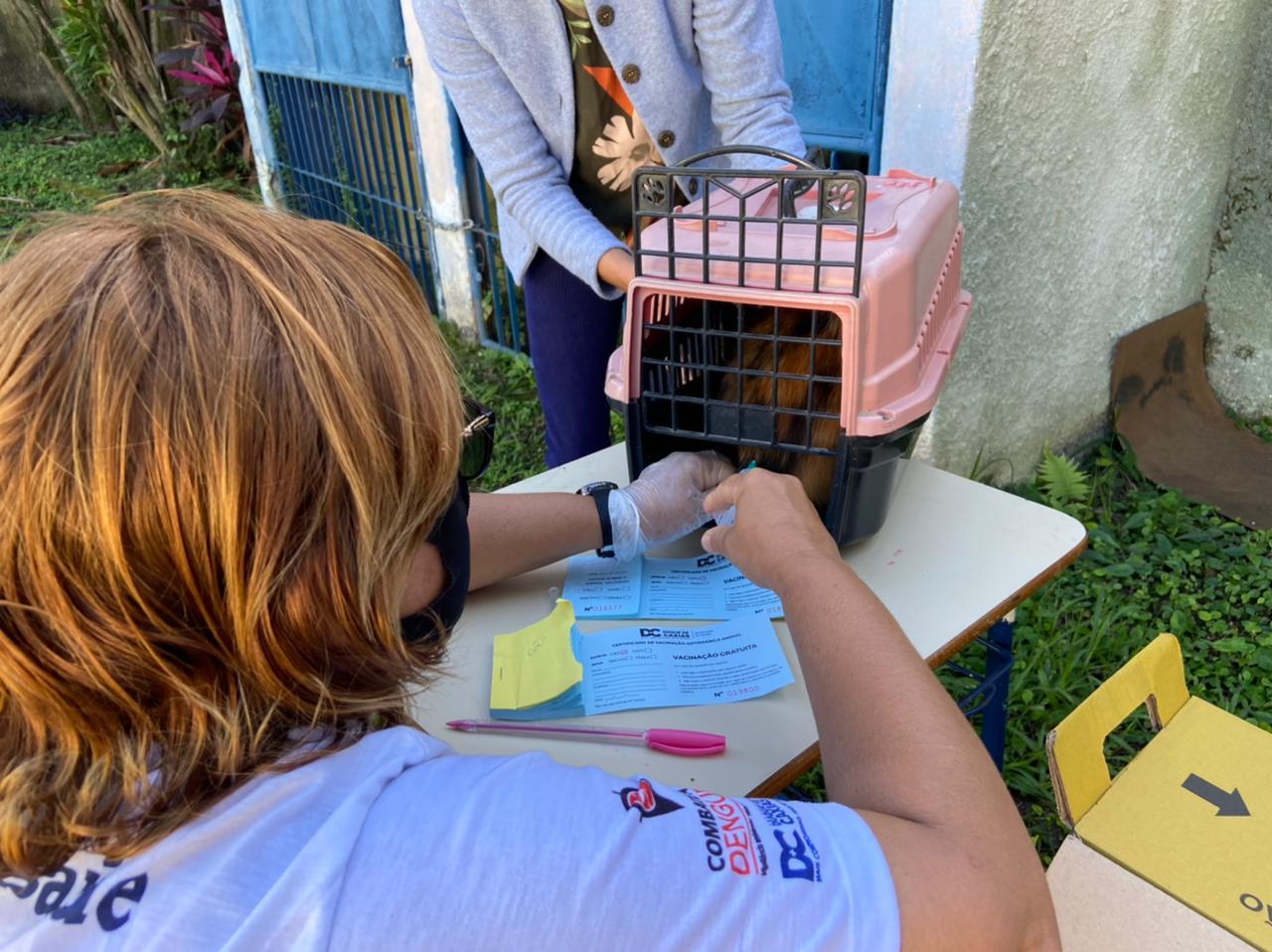 Prefeitura leva vacinação antirrábica  para cães e gatos ao distrito de Xerém
