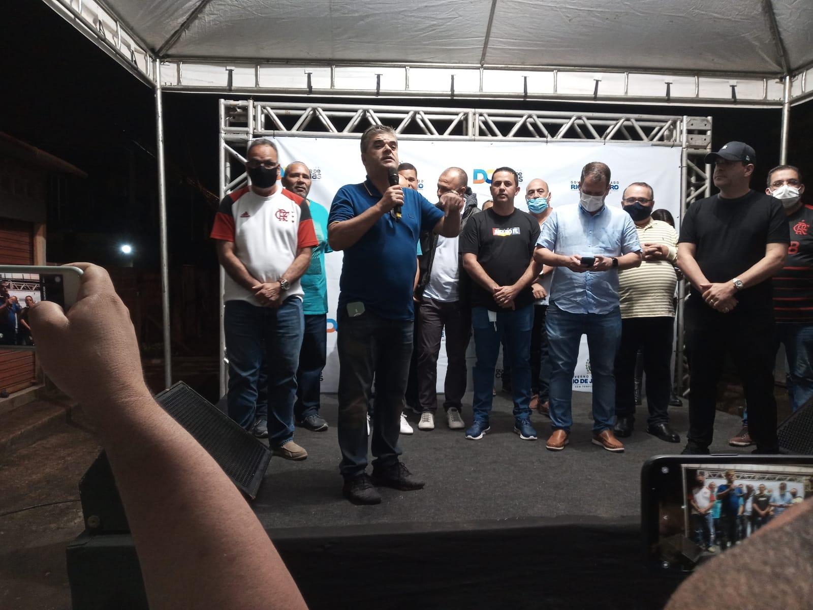 Duque de Caxias anuncia obras de drenagem  e pavimengtação de ruas no segundo distrito