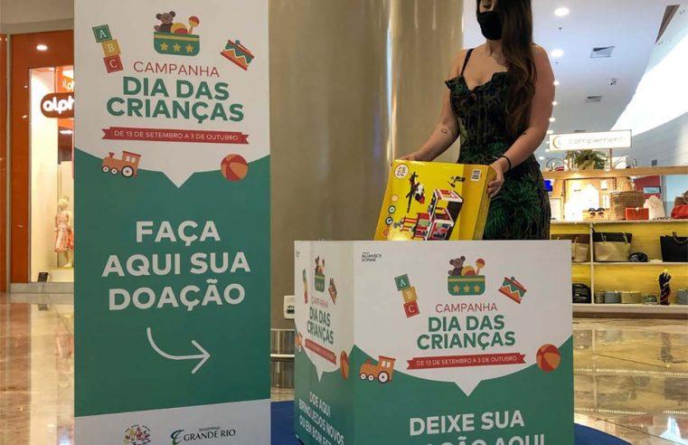 Shoppings na Baixada Fluminense promovem  campanha de arrecadação de brinquedos