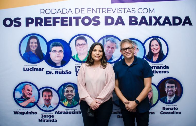 Uso de verba da Cedae marca debate com prefeitos de Queimados e Japeri