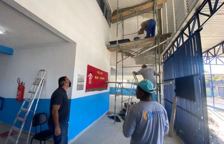 Prefeitura de Duque de Caxias vai entregar  escola reformada para moradores do bairro Pilar