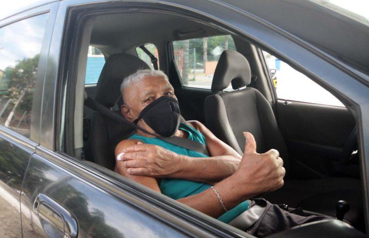 Nova Iguaçu inicia dose de reforço em  idosos acima de 80 anos nesta terça-feira